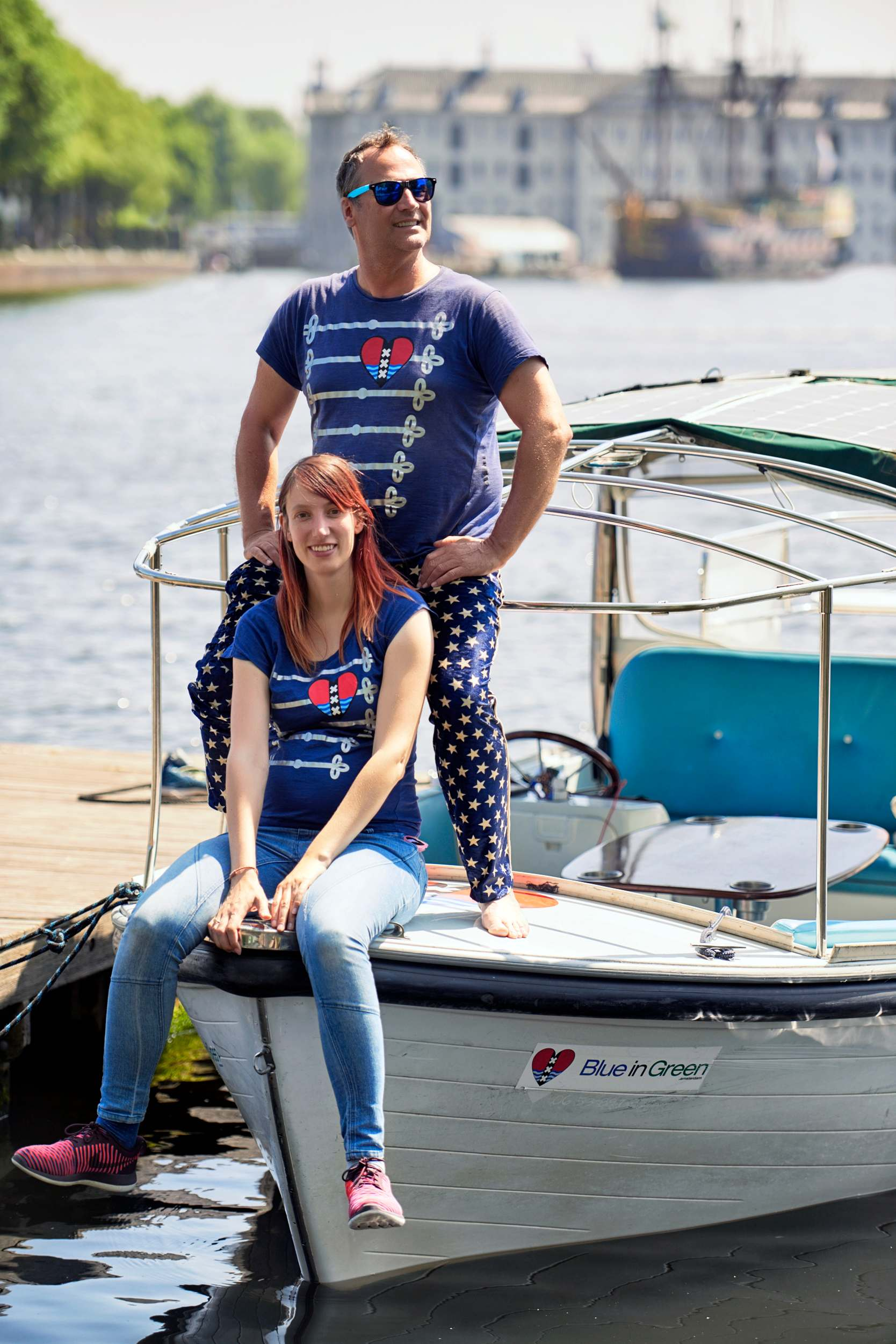 About Paap and Carla with boat