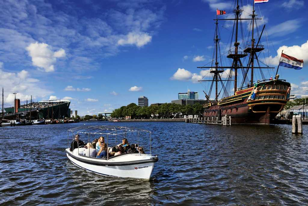 90-minute canal tour