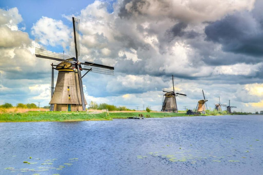 Windmills and water